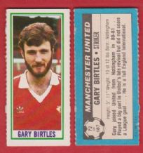 Manchester United Gary Birtles 72